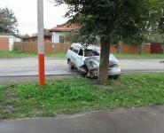 В районе Карачарова въехала в дерево «одиннадцатая»
