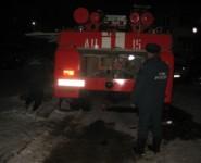 Муромлянин пострадал во время пожара на улице Свердлова